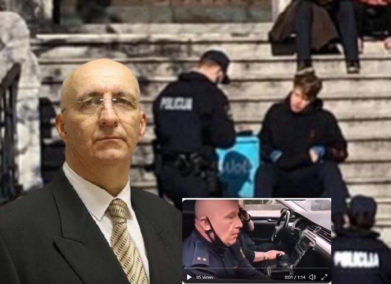 """Anton Olaj in """"profesionalni"""" policisti"""