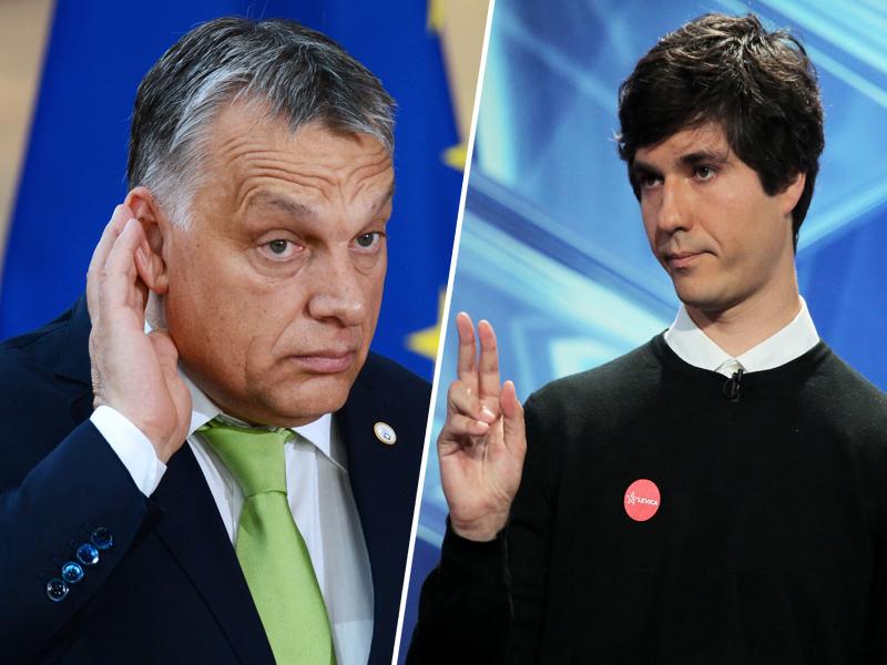 Viktor Orbán, Luka Mesec