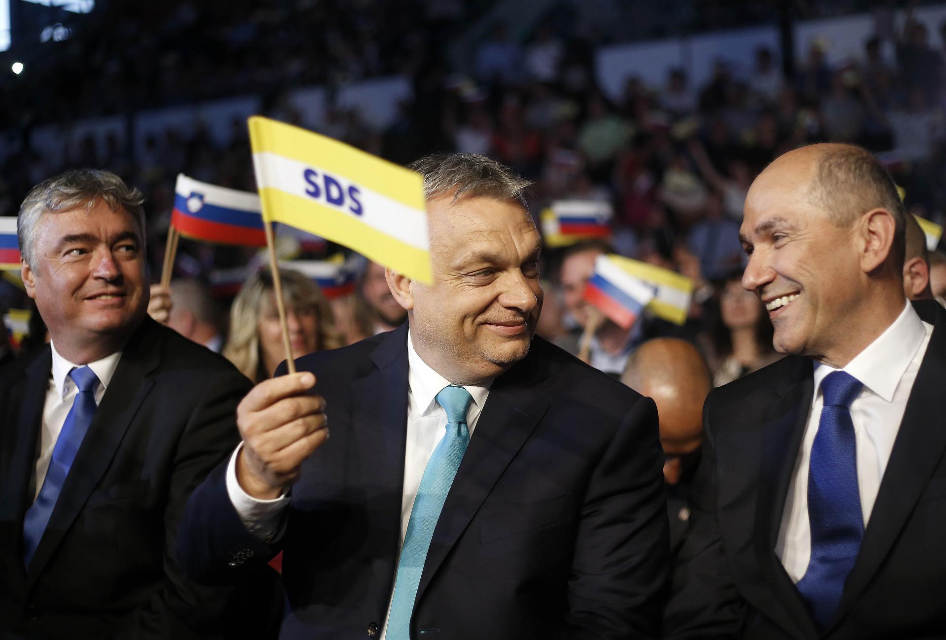 Orban in Janša Vir:Twitter