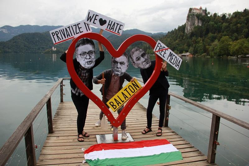 Orban, Janša in Vučić pridigajo ljubezen in spravo...