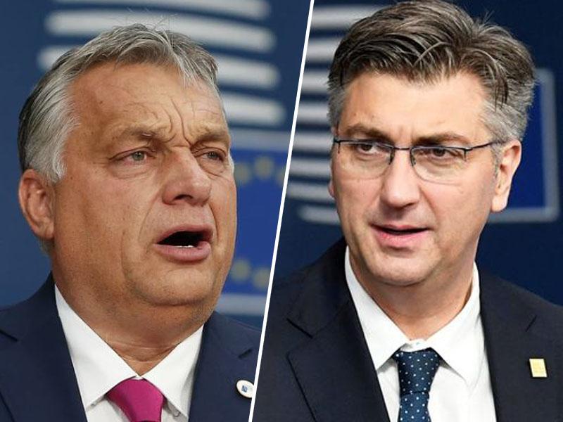Orban in Plenković