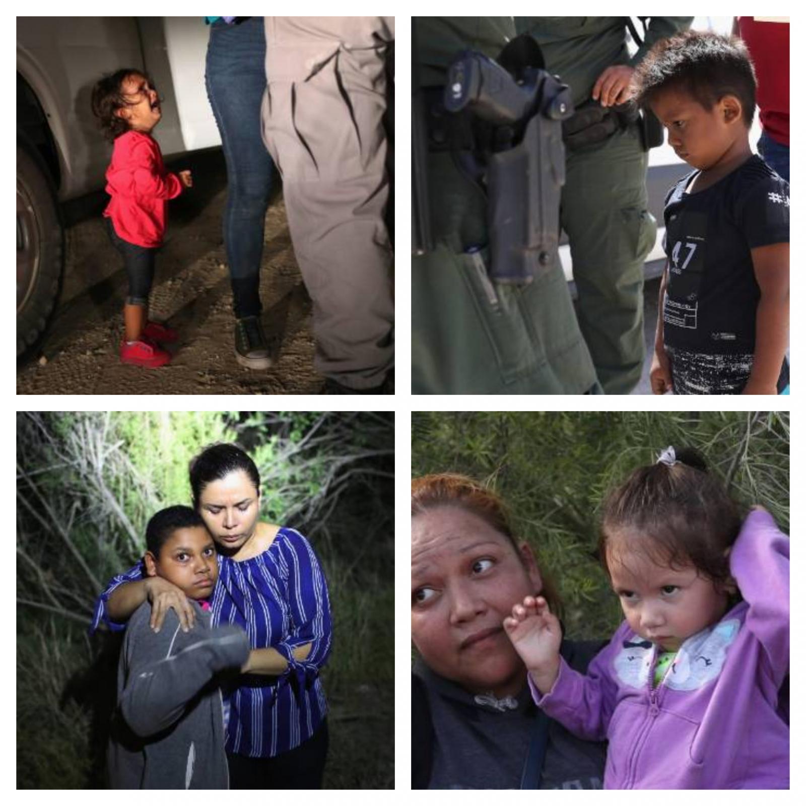 otroci, meja ZDA-Mehika