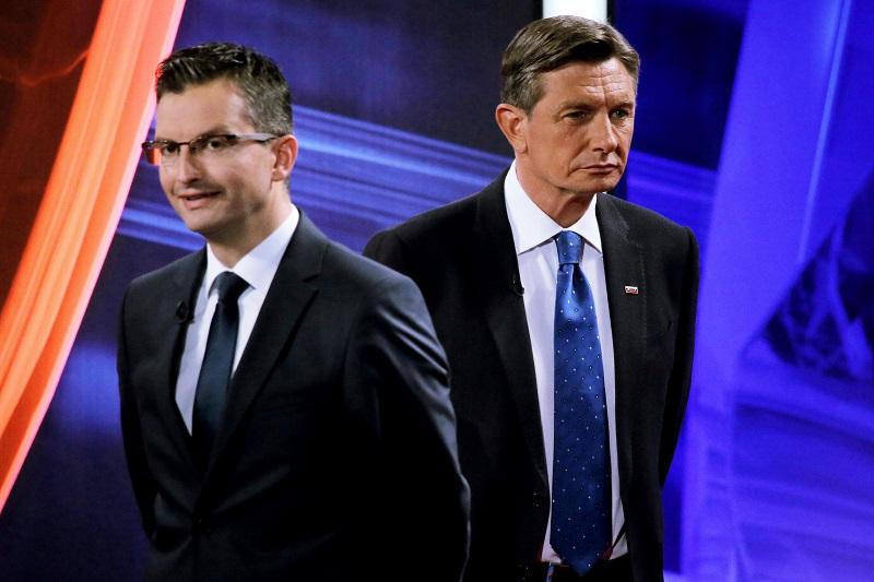 Premier Marjan Šarec in predsednik države Borut Pahor, foto: STA