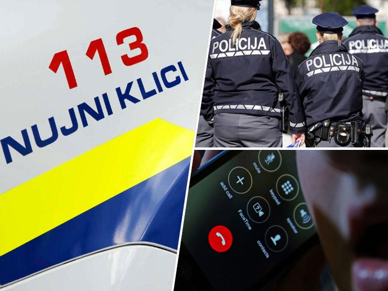 Policija, klici 113