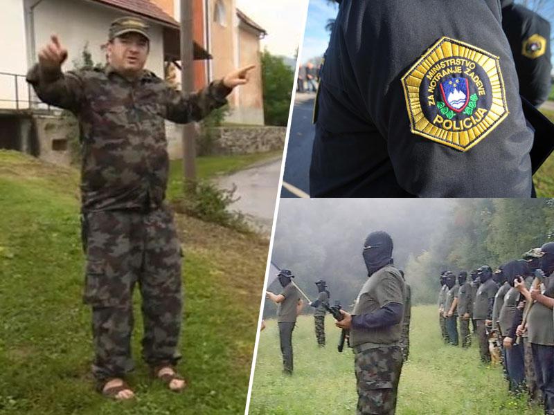 Policija in vaške straže
