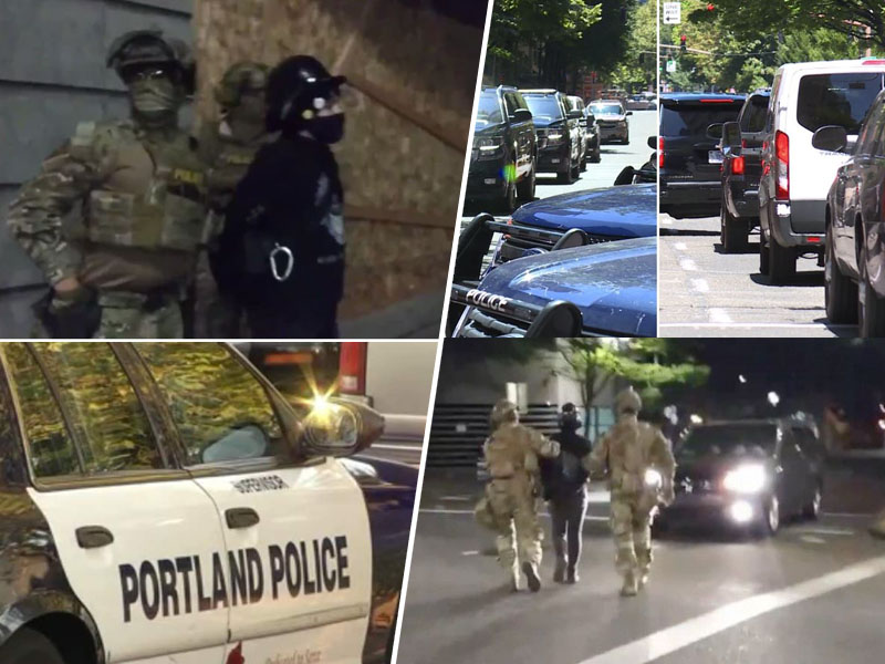 Portland - ugrabitve