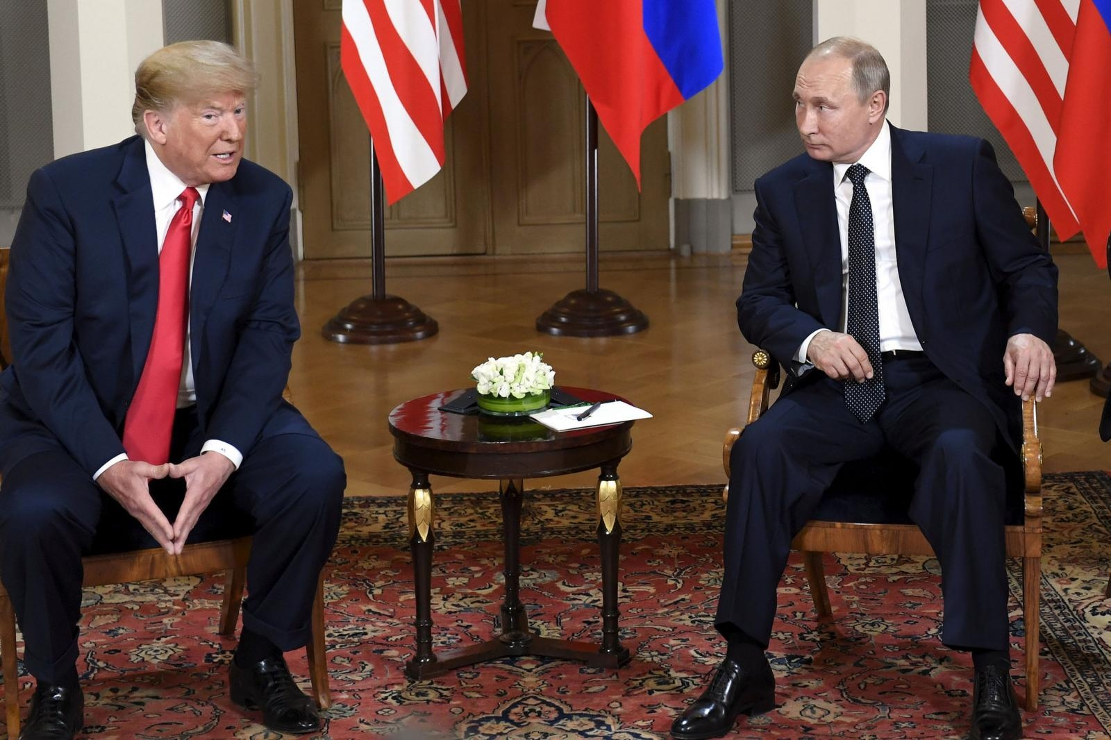 Putin in Trump, Finska