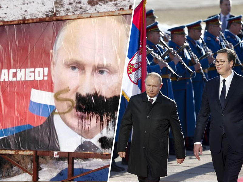 Putin in Vučič    Vir:Pixsell