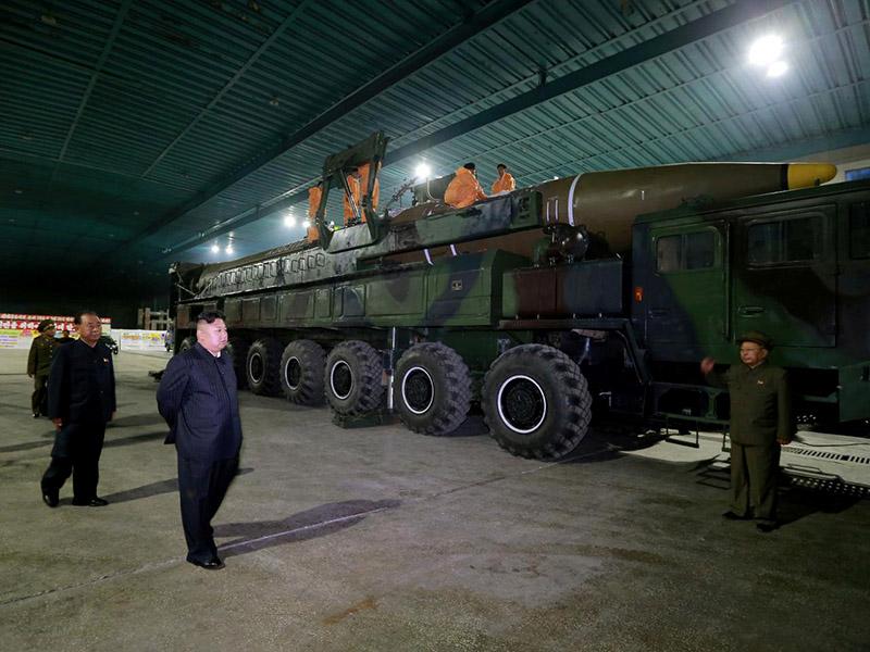 Rakete - Severna Koreja