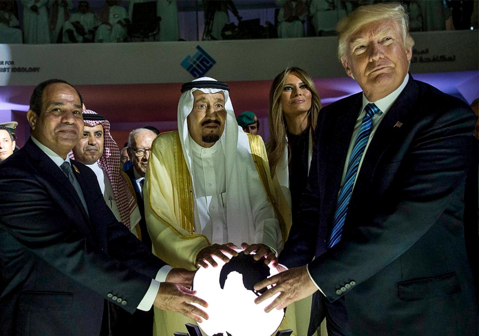 Trump in savdijski kralj Vir:Pixell