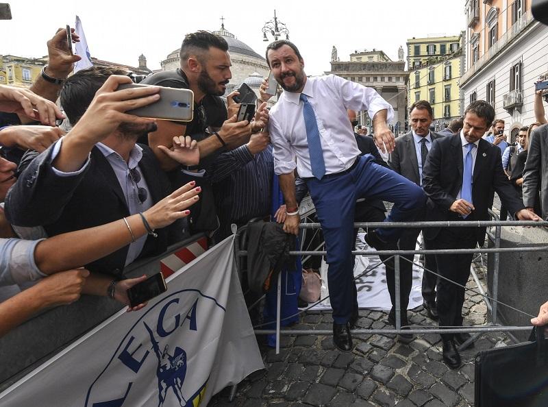 Italijanski notranji minister Matteo Salvini