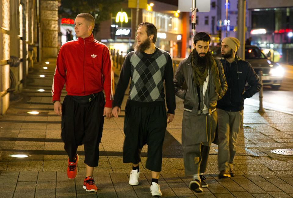 Šariatska policija v nemških mestih
