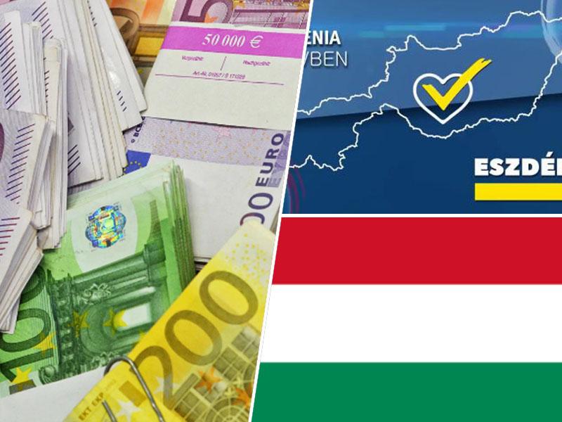 SDS volitve madžarska