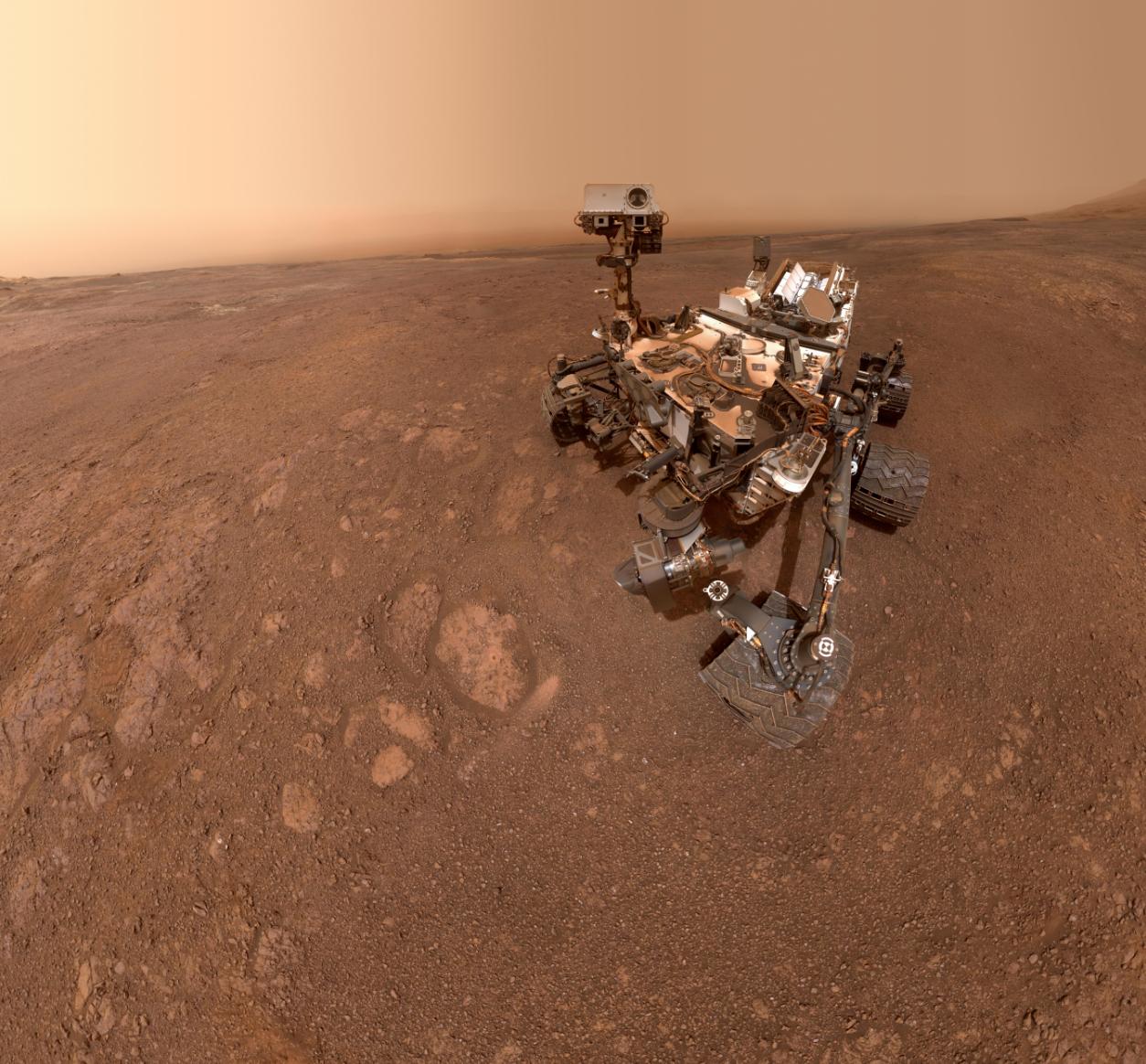 Rover JPL na Marsu Vir:NASA