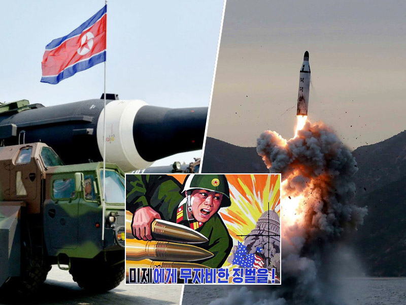 Severna Koreja rakete