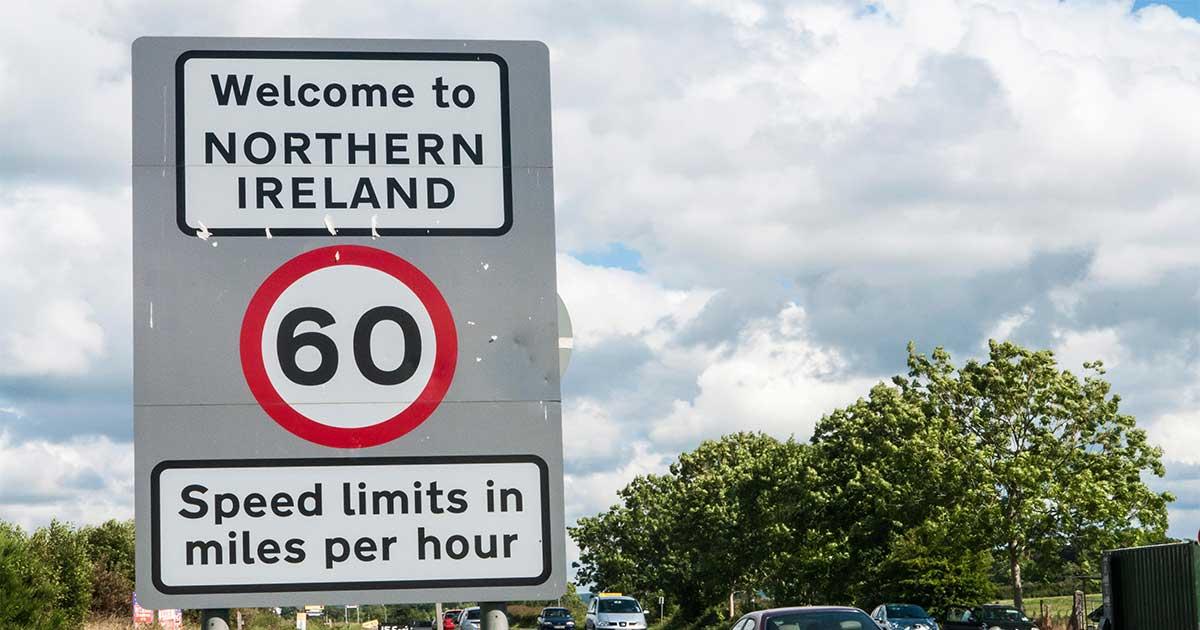 Severna Irska - meja