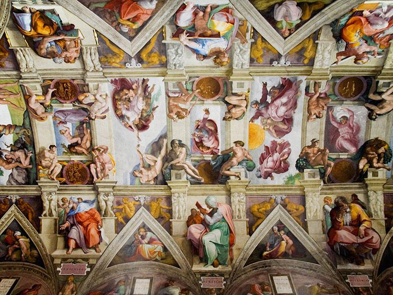 Sikstinska kapela v Vatikanu