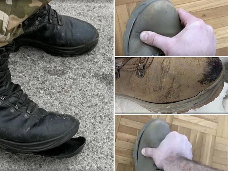 Slovenska vojska, čevlji