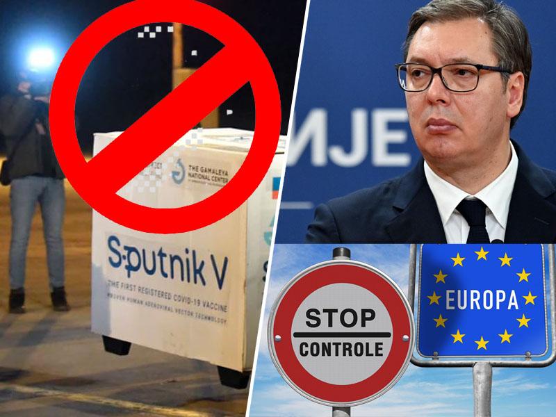 Vučić in Sputnik