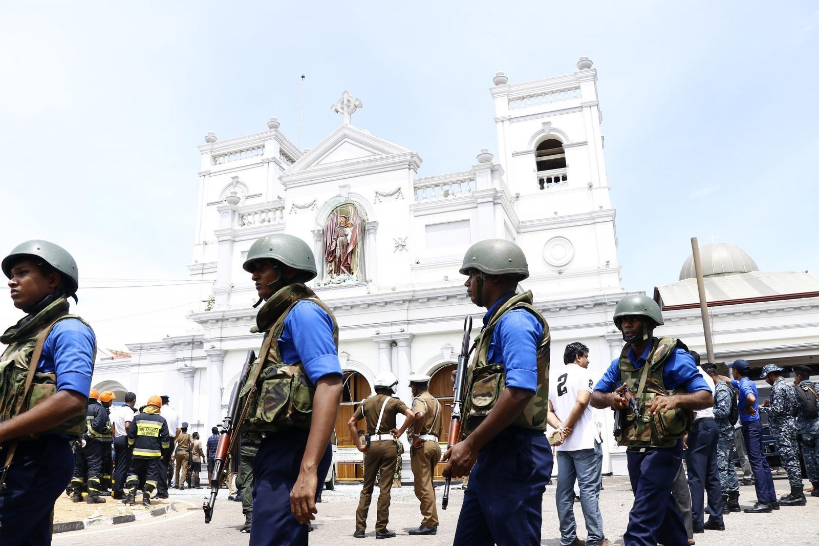 Sri Lanka, napadi Vir:Pixsell