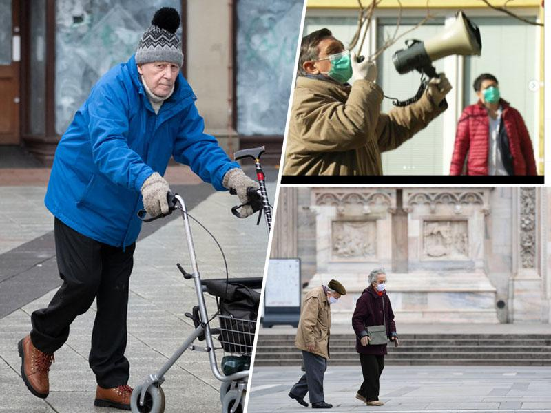 Starejši v Sloveniji - prepuščeni smrti, predsedenik jim prepeva podoknico