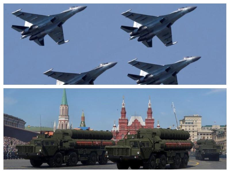 Su-35 in S-400