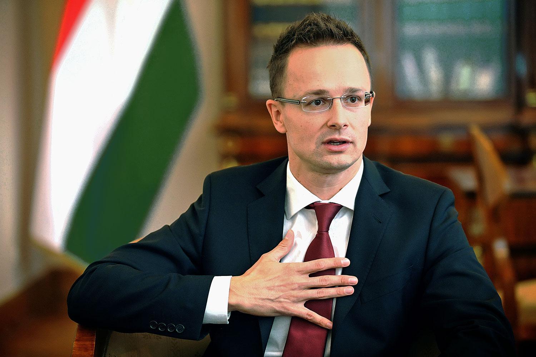 Madžarski zunanji minister Szijjarto Peter