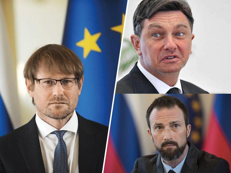 Teršek, Pahor in Erbežnik