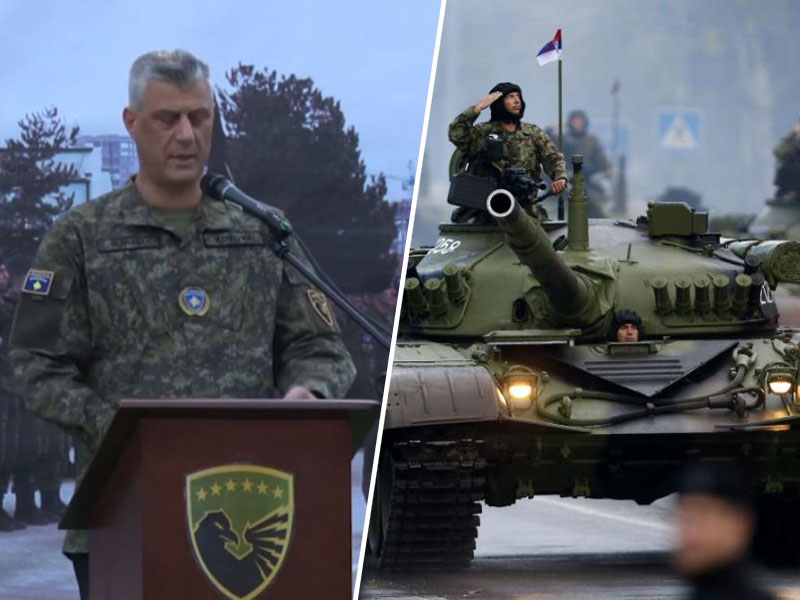 Hashim Thaqi in srbski tank