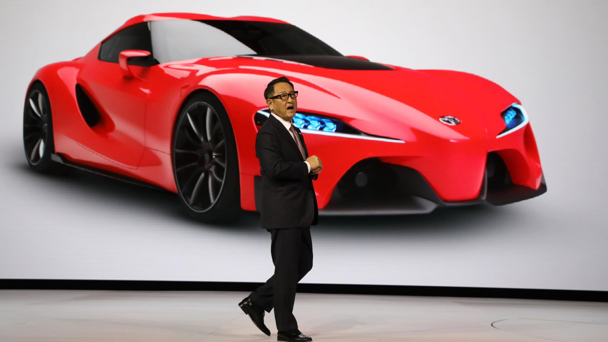 Predsednik uprave Toyota Akio Toyoda