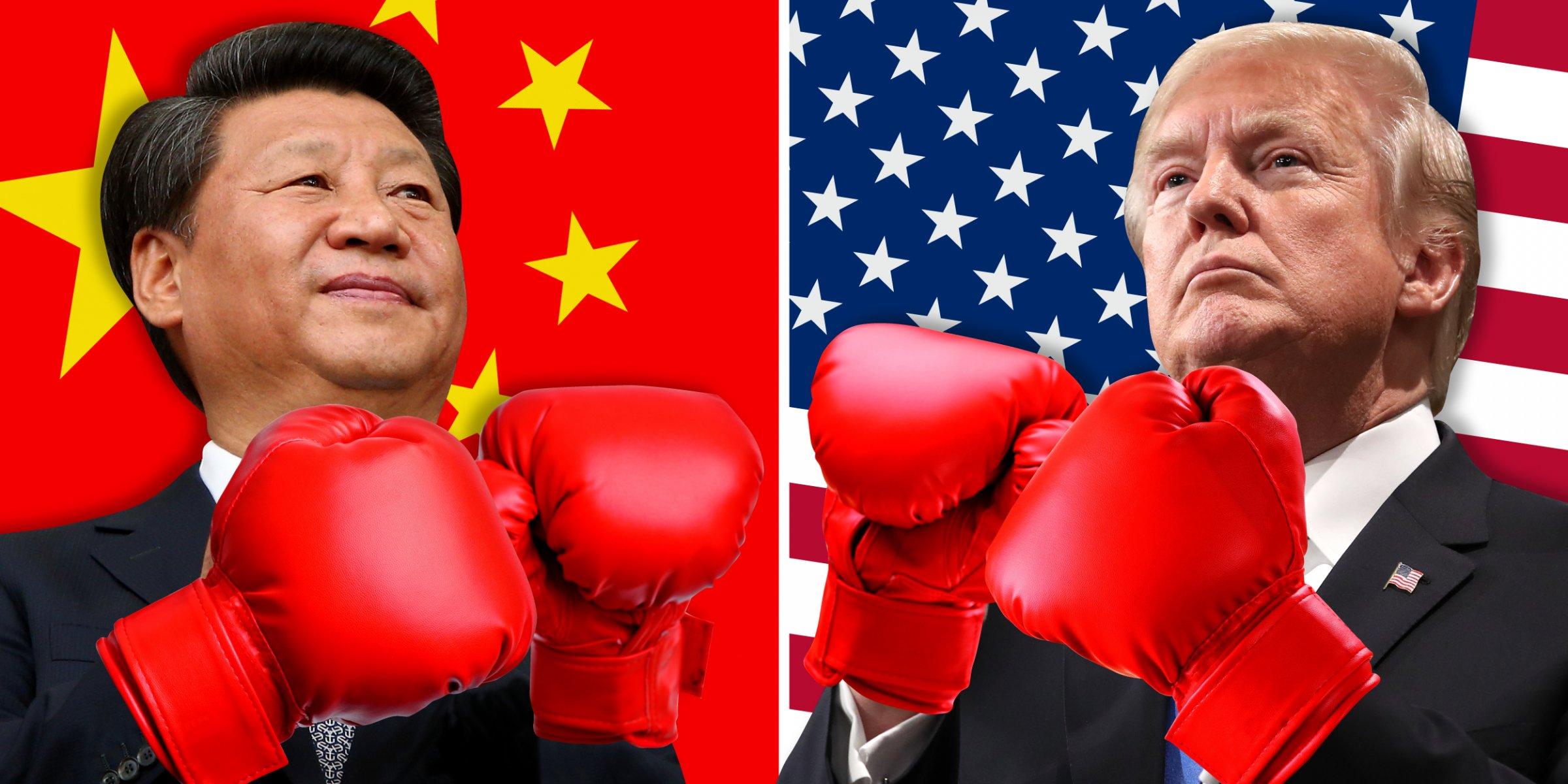 """Trump in Xi """"boksata"""" Vir: Axios"""