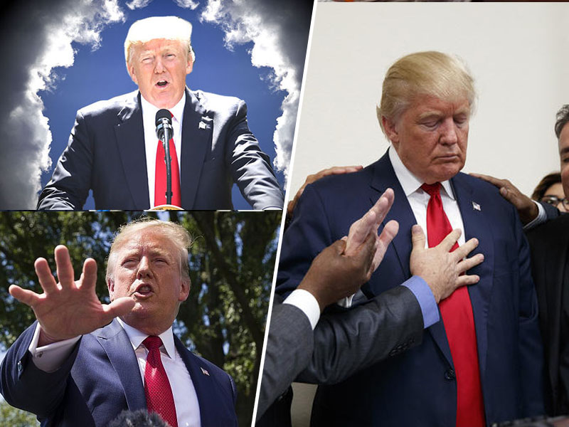 Trump kot izbrani mesija