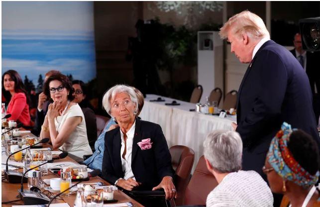 Donald Trump, zamuda ob prihodu na vrh G7