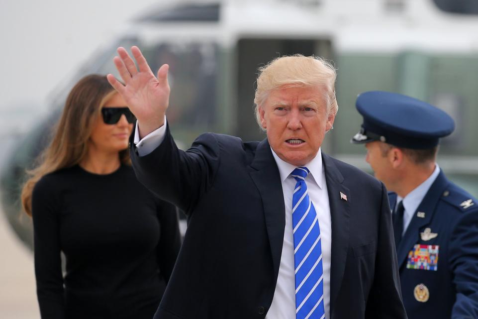 Trump in Melania