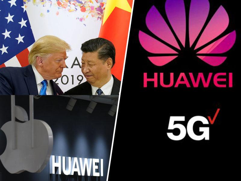 Huawei - Trump in Xi iz oči v oči