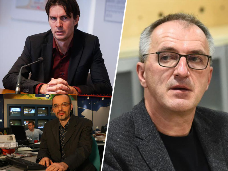 Uroš Urbanija , Borut Meško in Bojan Veselinović