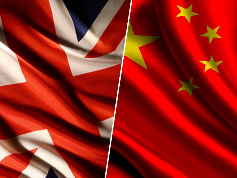 Velika Britanija in Kitajska / zastava