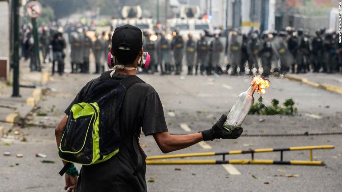 Venezuela protesti opozicije