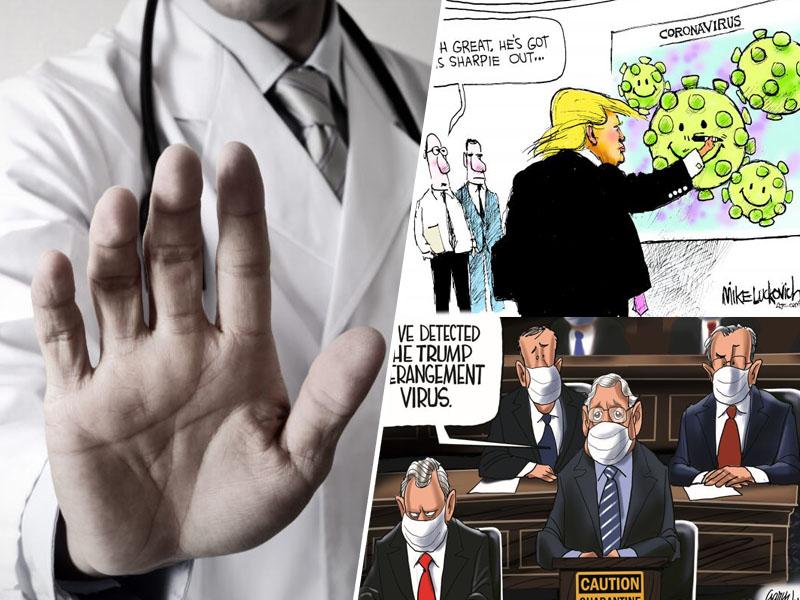 Koronavirus in Trump