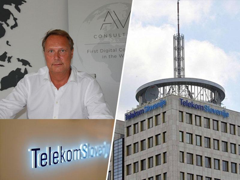 Andrej Vizjak in Telekom Slovenije