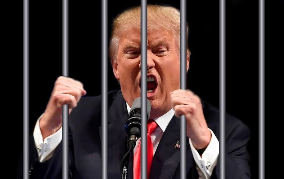 Trump za zapahi - to je slika, ki je ne bomo videli - fotomontaža