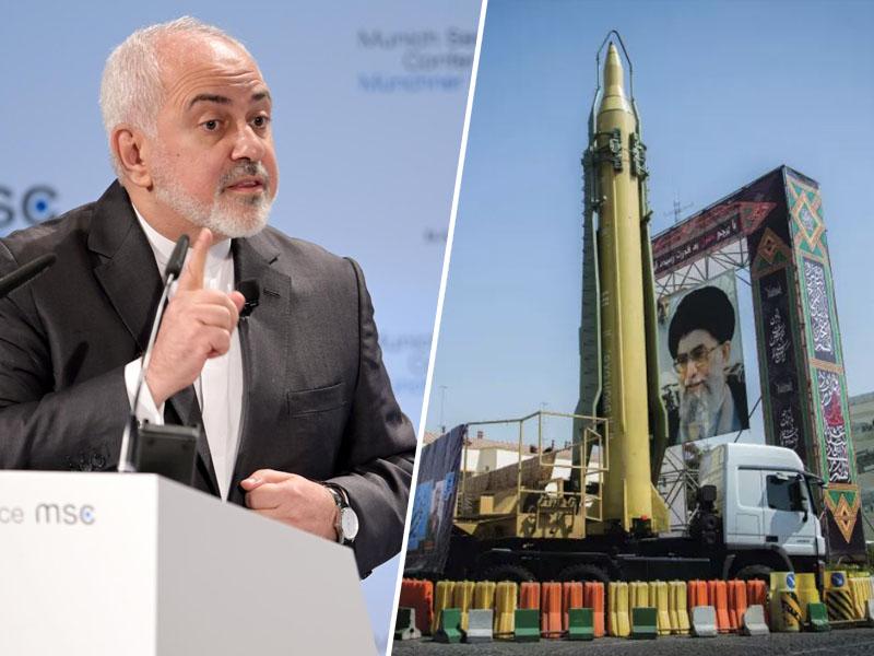 Zarif in iranska raketa