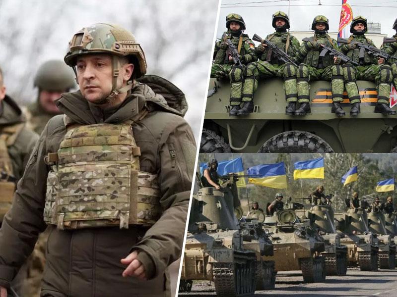 Ukrajinski predsednik na meji