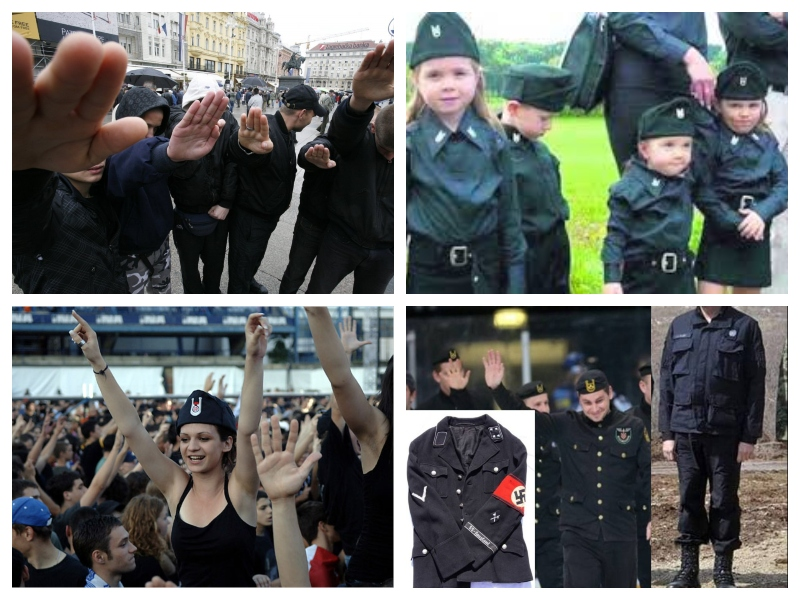Ustaški simboli na Hrvaškem