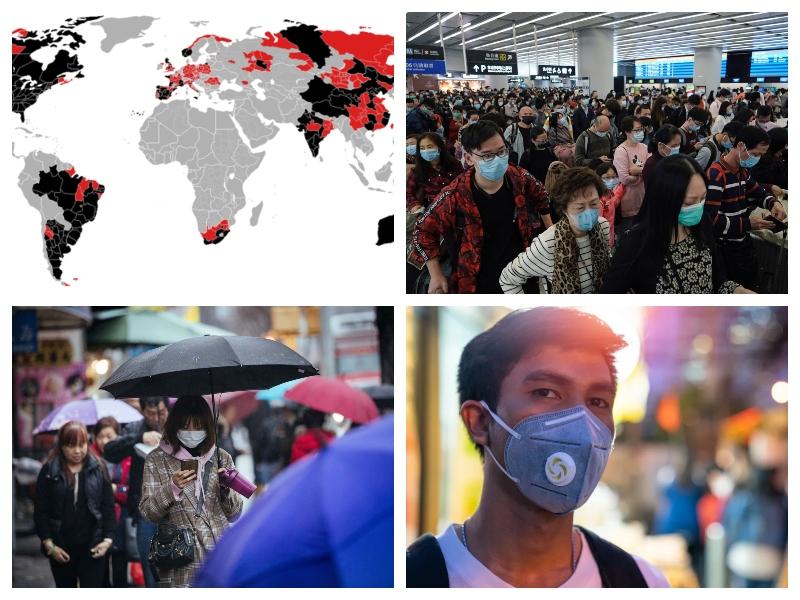 Maske kot sredstvo za boj proti virusom