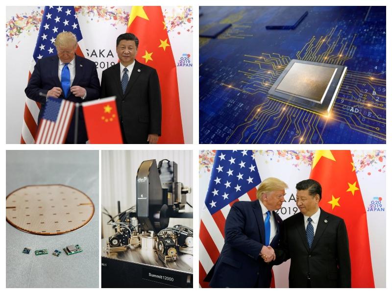 Xi Jinping in Donald Trump