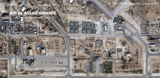 Zadetki Irana v Iraku