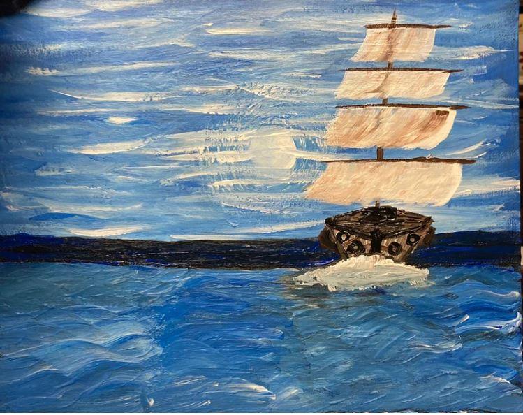 Slike Omarja bin Ladna - Zahodna voda