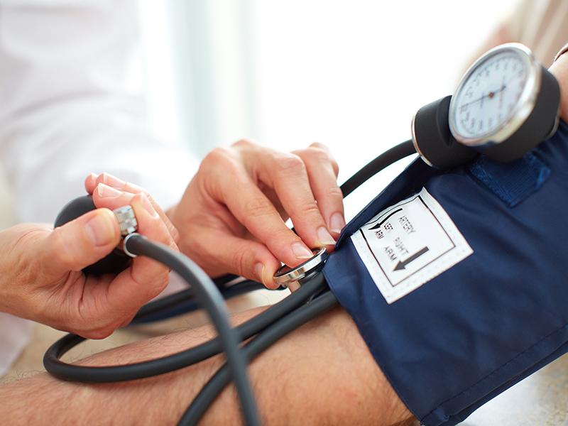 Zdravnik, merjenje pristiska