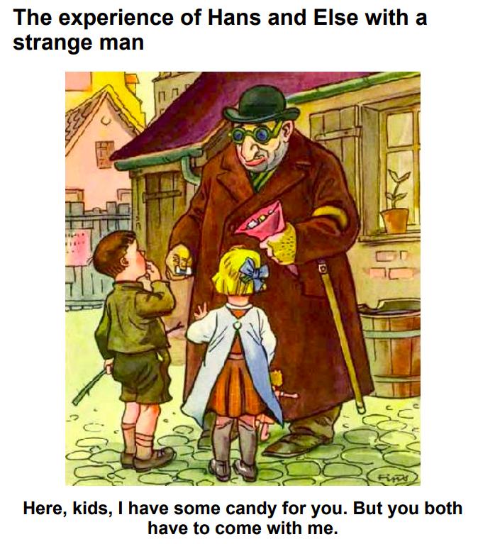 Nacistična propaganda - Žid pedofil